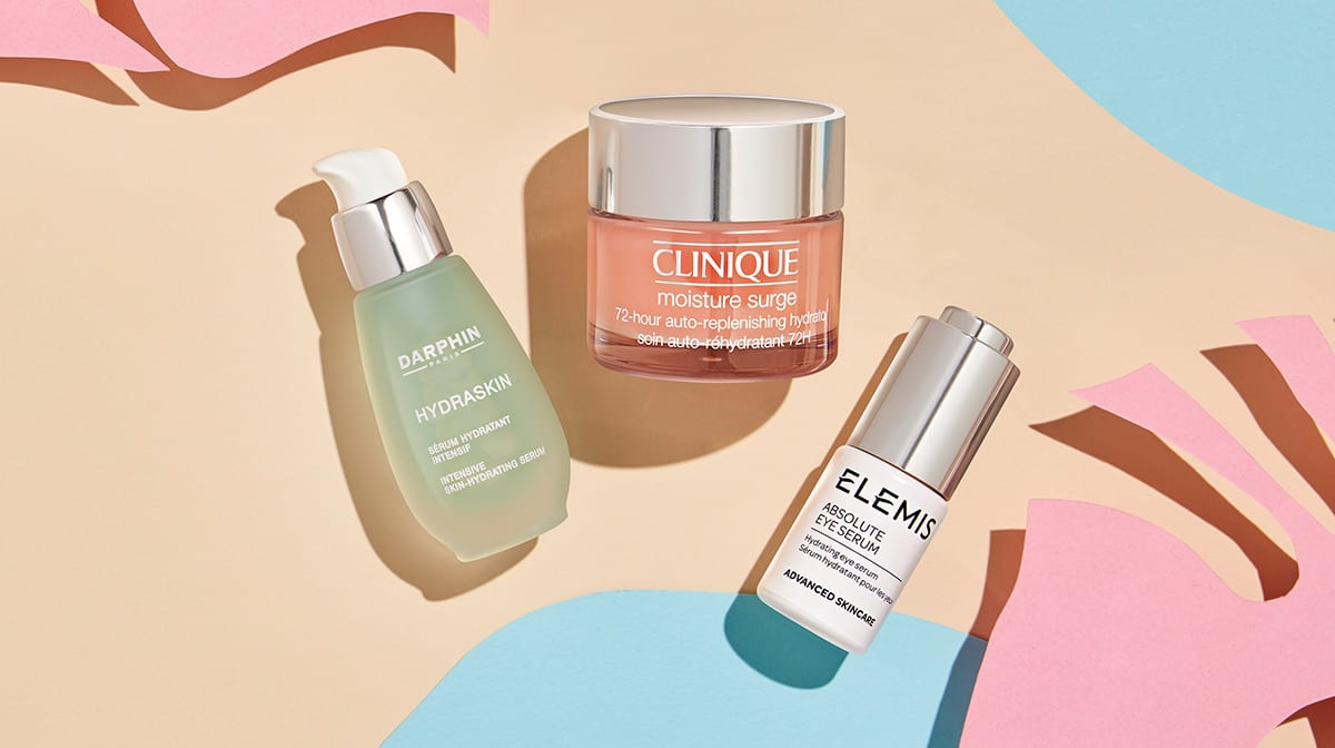 summer skincare products